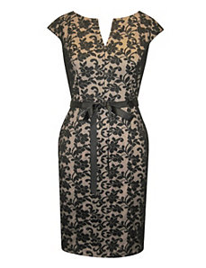 Lovely Black Lace Dress by Alex Evenings