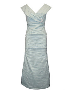 Seafoam Evening Dress by Alex Evenings