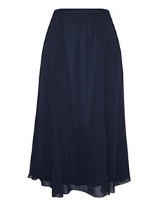 Navy Festive Flow Skirt by Alex Evenings