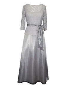 Silver Moon Evening Dress by Alex Evenings