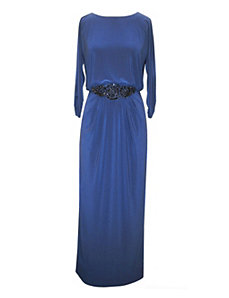 Ocean Blue Evening Dress by Alex Evenings