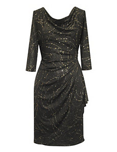 Black Event Dress by Alex Evenings