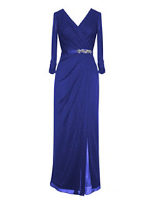 Blue Marina Evening Dress by Alex Evenings