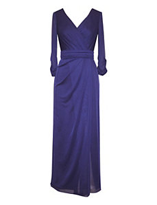 Sapphire Evening Dress by Alex Evenings