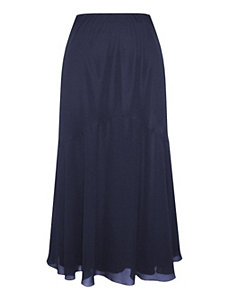 Baltic Blue Skirt by Alex Evenings