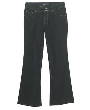 Rinse Wash Flare Jeans