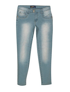 Blue Hot Spot Jeans by Angels