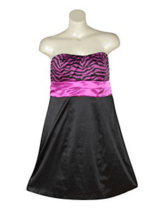 Black Ready To Party Dress by Ruby Rox