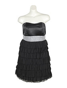 Back In Black Party Dress by Ruby Rox