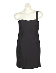 Black One Shoulder Party Dress by Ruby Rox