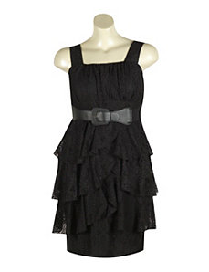Black Beltway Dress by Ruby Rox
