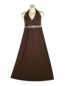 Halter Maxi Dress by Ruby Rox