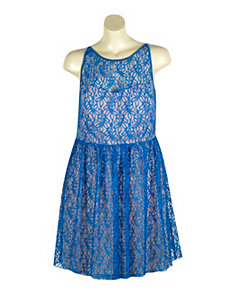 Space Lace Dress by Ruby Rox