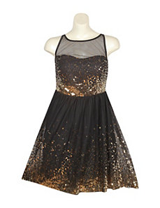 Gold Mine Dress by Ruby Rox