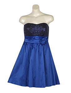 Blue Pacific Party Dress by Ruby Rox