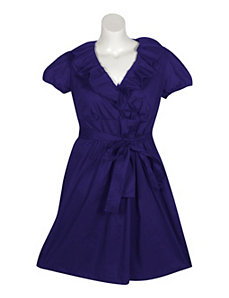 Purple Statement Dress by Ruby Rox