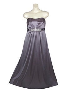 Silver Maxi Dress by Ruby Rox