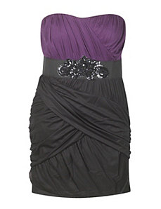 Purple And Black Dress by Ruby Nights Rox