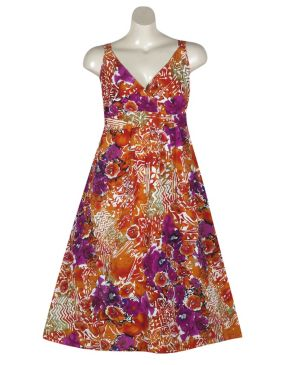 Fun Multi Color Maxi Dress