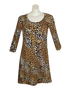 Animal Attack Print Dress by Mlle Gabrielle