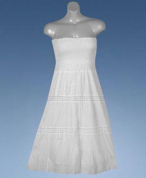 White Wash Maxi Dress