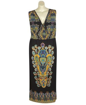 Chicago Scarf Maxi Dress