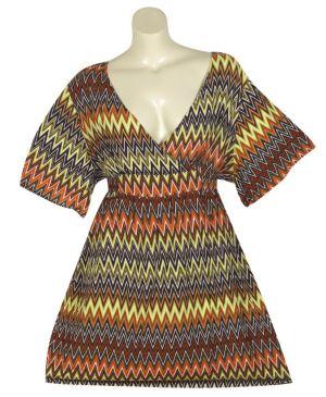 Orange Egypt Dress