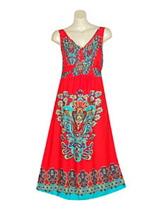 Red Range Dress by Mlle Gabrielle