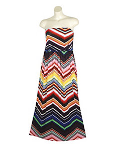 Stripe Maxi Dress by Mlle Gabrielle