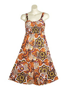 Pleasant Print Dress by Mlle Gabrielle