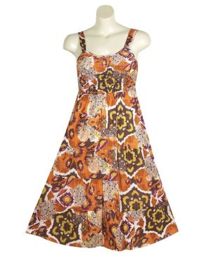 Pleasant Print Dress