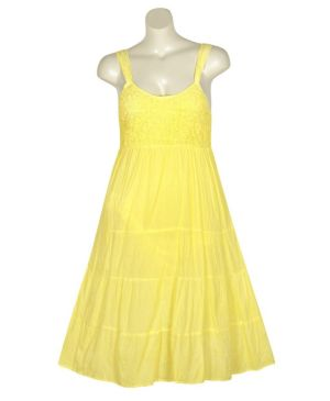 Yellow Lake Dress