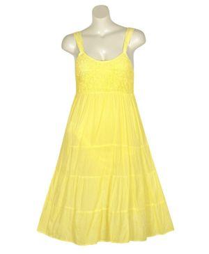 Yellow Lake Dress