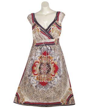 Peoria Print Maxi Dress