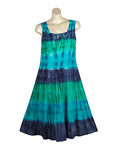 Maxi Tie Dye Dress by Mlle Gabrielle