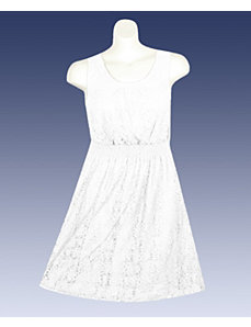 White Beauty Lace Dress by Mlle Gabrielle