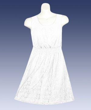 White Beauty Lace Dress