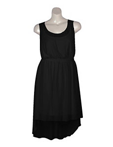 Black Party Chiffon Dress by Mlle Gabrielle