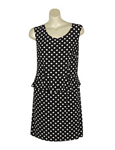 Ruffle Dot Dress by Mlle Gabrielle