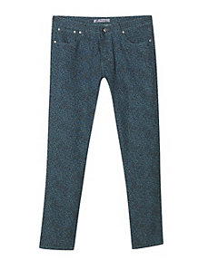 Blue Animal Print Jeans by Exocet
