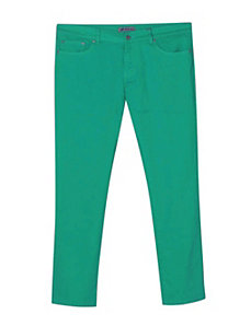 Five Pocket Jade Colored Jeans by Exocet