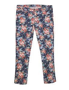 Blue Floral Jean by Exocet