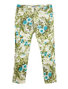 Green Floral Jean by Exocet