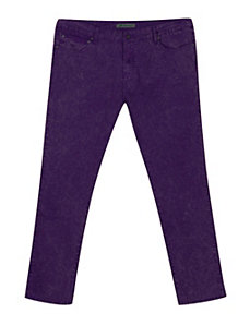 Distressed Eggplant Jean by Exocet