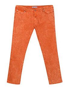Distressed Rust Jean by Exocet
