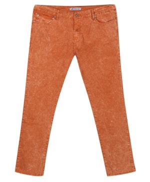 Distressed Rust Jean