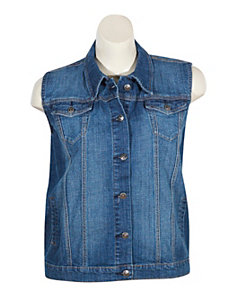 Denim Vest by Exocet
