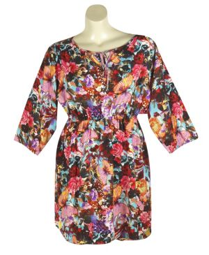 Floral Fashion Dress