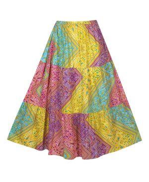 Round Robin Maxi Skirt