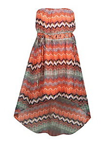 Chevron Print Dress by Apollo
